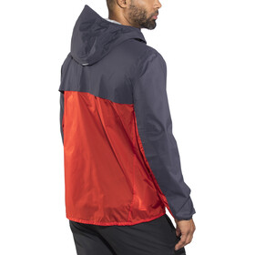Salomon Outspeed Chaqueta Híbrida Hombre, graphite/fiery red